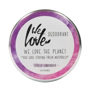 We Love The Planet Deodorant - Lovely Lavender Deodorantcrème met zuiveringszout