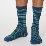 Thought Chaussettes Bambou - Michele Denim Blue