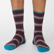 Thought Chaussettes Bambou - Edoardo Wine Red