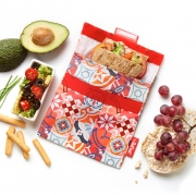 Roll'eat Snack'n Go Patchwork Herbruikbaar lunchzakje