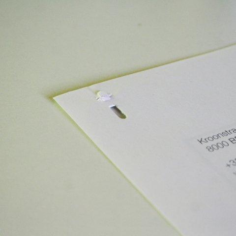 agrafeuse sans agrafe ecobos - kudzu eco webshop