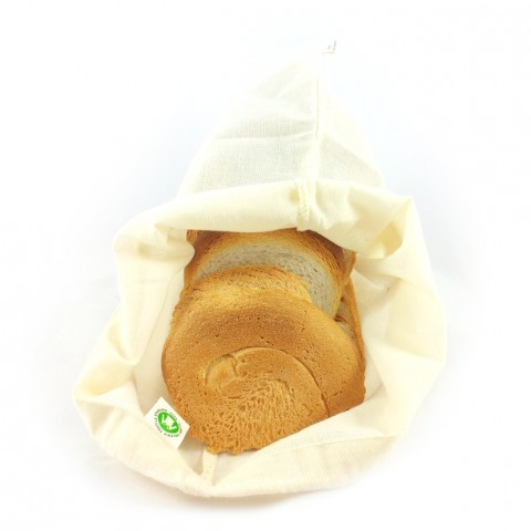 ff415199dfc Herbruikbare Broodzak Herbruikbaar boodschappentasje voor brood ...