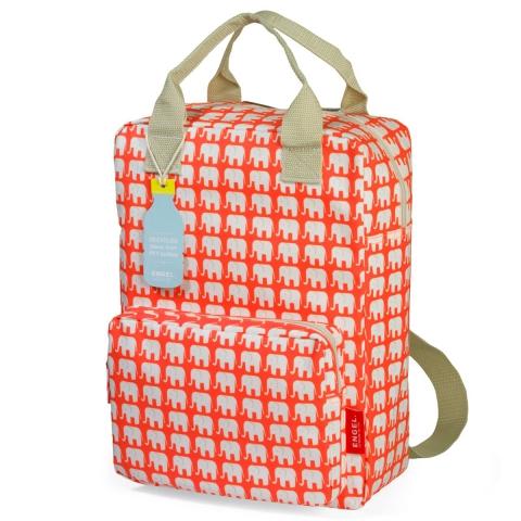 437700e4451 Rugzak Large - Olifant Oranje. Rugzak van gerecycleerde PET-flessen ...