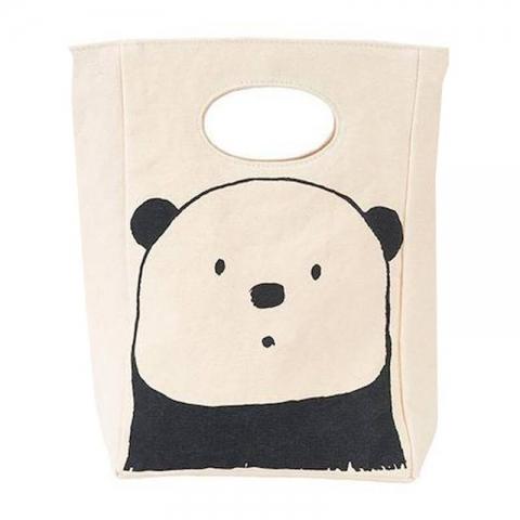 7aa8732ee0e Lunchtas Panda Ruime lunchtas van bio-katoen Fluf - Kudzu eco webshop