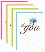 Botanical Paperworks Plantbare Thank You