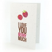 Botanical Paperworks Plantbare I Love You Berry Much