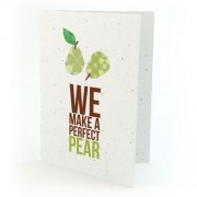 Botanical Paperworks Plantbare We Make a Perfect Pear