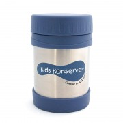 Kids Konserve Thermosbeker 350 ml - Blauw