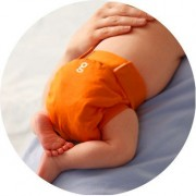 gDiapers gPant Great Orange