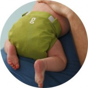 gDiapers gPant Guppy Green