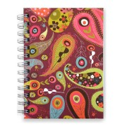 Ecojot Notitieboek Paisley Purple
