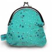 Froy & Dind Geldbeugel Stars Light Blue