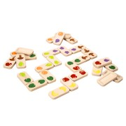 Plan Toys Fruit & Groenten Domino (2j+)