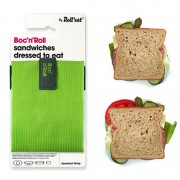 Roll'eat Boc'n Roll Square Herbruikbare foodwrap voor lunch