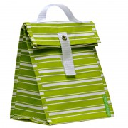 Lunchskins Lunchtas - Green Stripes