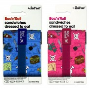 Roll'eat Boc'n Roll Kids - Pirates Herbruikbare foodwrap voor lunch