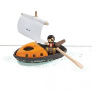 Plan Toys Piratenboot (2j+) Speelboot van Planwood