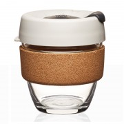 KeepCup KeepCup Brew Cork Small - 225 ml Herbruikbare koffiebeker in glas