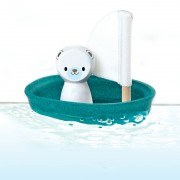 Plan Toys Voilier - Ours Polaire (12m+)