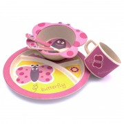 Yuunaa Kids Servies Set - Vlinder