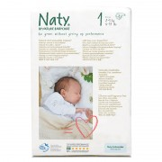 Naty Couches 1 Newborn - 26 pièces