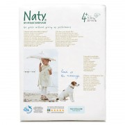 Naty Couches 4+ Maxi - 25 pièces