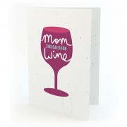 Botanical Paperworks Plantbare Happy Mother's Day - Wine