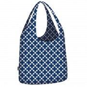 Ecozz Little Big Bag - Squares Bleu