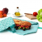 Roll'eat Boc'n Roll Tiles Herbruikbare foodwrap voor lunch