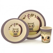 Yuunaa Kids Servies Set - Uil