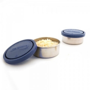 Kids Konserve Duo Containers Small Blauw