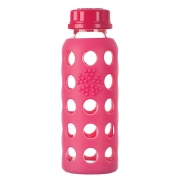 Lifefactory Biberon Sippy 260 ml - Framboise
