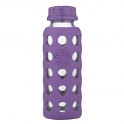 Lifefactory Biberon Sippy 260 ml - Violet
