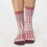 Thought Chaussettes Bambou - Eva Raspberry