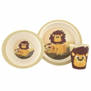 Pure Kids Set de Vaisselle - Lion