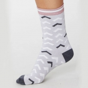 Thought Chaussettes Bambou - Arrow Pebble Grey