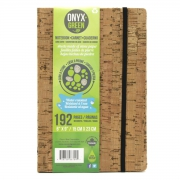 Onyx+Green Notitieboek A5 Kurk Notitieboek van waterproof steenpapier met kaft in kurk