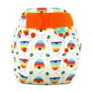 Totsbots PeeNut Wrap Print - Bee Kind