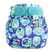 Totsbots PeeNut Wrap Print - Royal All Bum