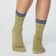 Thought Chaussettes Bambou - Stars Pear Green