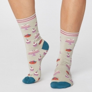 Thought Chaussettes Bambou - Cupcake Cream