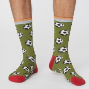 Thought Chaussettes Bambou - Sports Olive Green