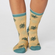 Thought Chaussettes Bambou - Botanical Mimosa Yellow