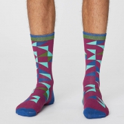 Thought Chaussettes Bambou - Triangle Beet Root