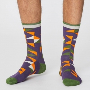 Thought Chaussettes Bambou - Triangle Plum