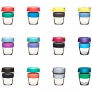KeepCup KeepCup Brew Medium - 340 ml Herbruikbare koffiebeker in glas