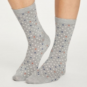 Thought Chaussettes Bambou - Spotty Bilberry Red