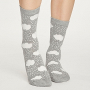 Thought Chaussettes Bambou - Rainy Cloud Grey Marle