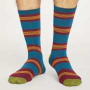 Thought Chaussettes Bambou - Jesper Bilberry Red