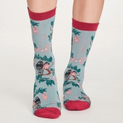 Thought Chaussettes Bambou - Lovebird Dusty Blue